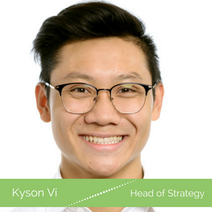 Kyson Vi our team photo