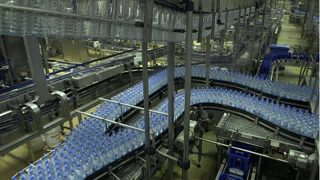 plastic bottle factory